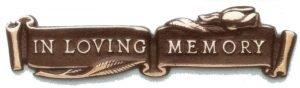 in loving memory logo