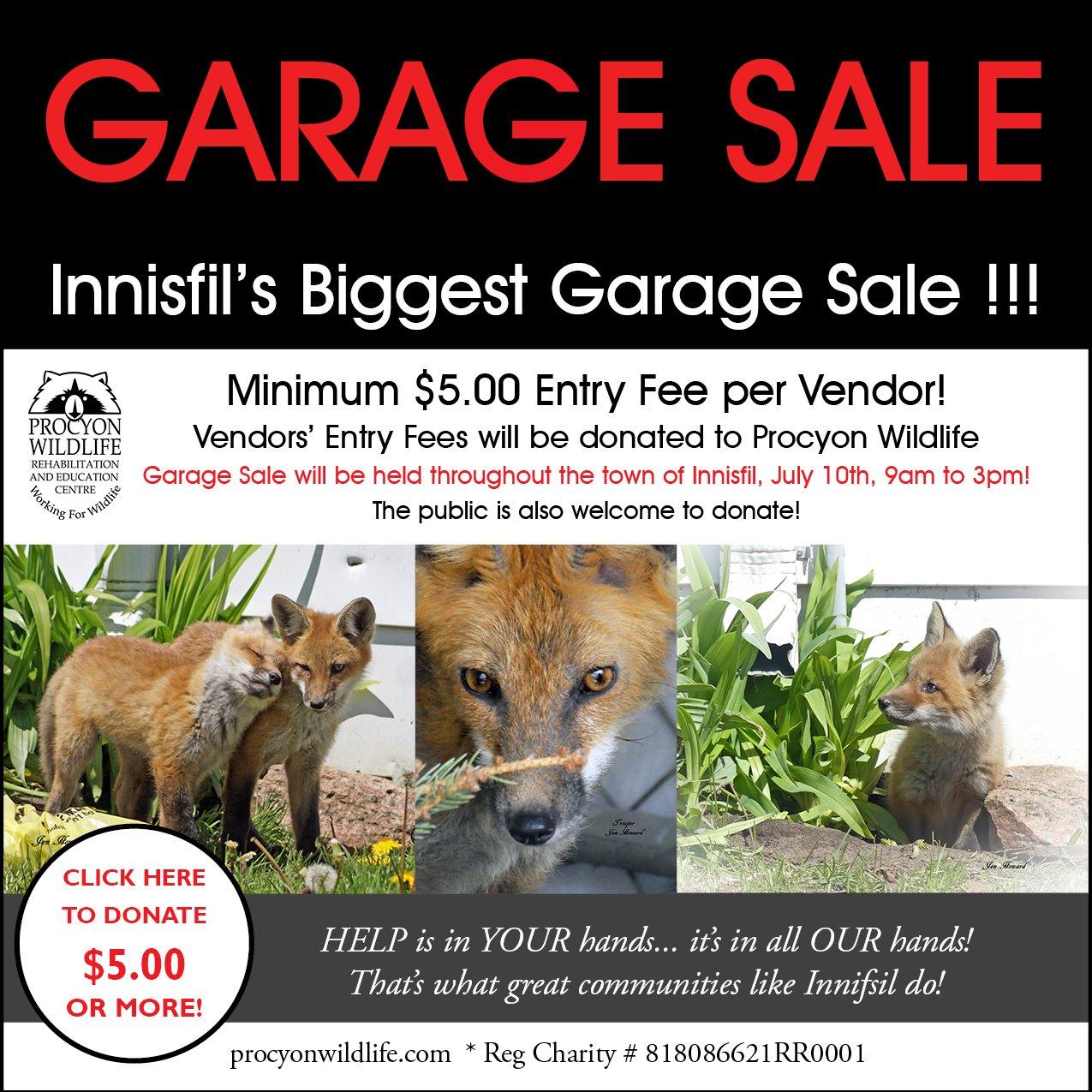 Innisfil's Biggest Garage Sale !!!