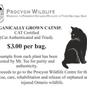 Mr. Tee's Organically Grown Catnip