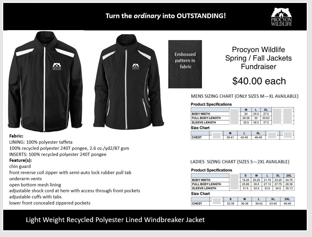 Procyon Spring Fall Jacket